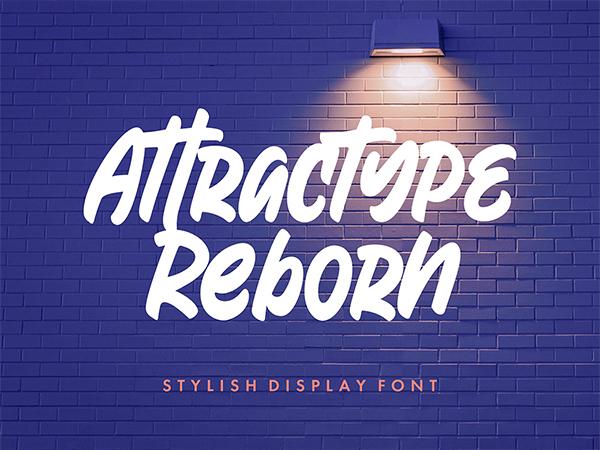 Riborn Display Free Font