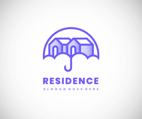 Houses Residence Logo Design