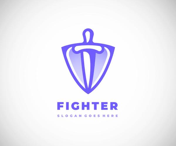 Sword Shield Logo Design