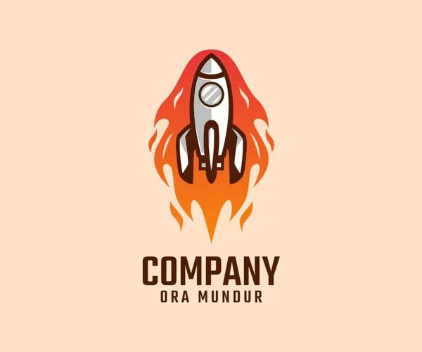 Rocket Logo Design