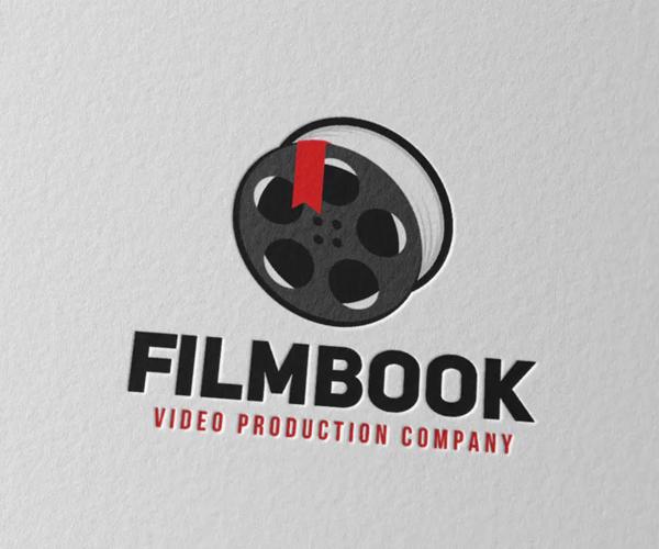 Film Book Logo Design