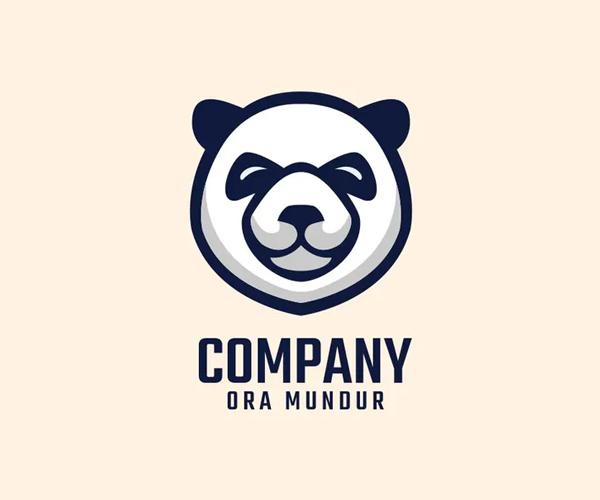 Panda Logo Mascot