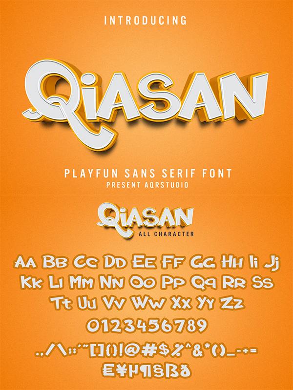 Qiasan - Sans Serif Font