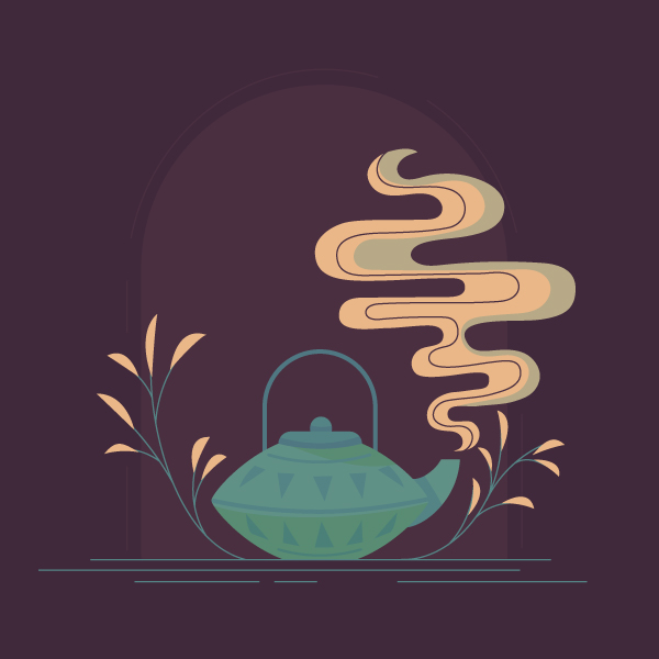 Create a Cozy Teapot Scene in Adobe Illustrator