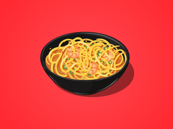 How to Create Noodles Bowl