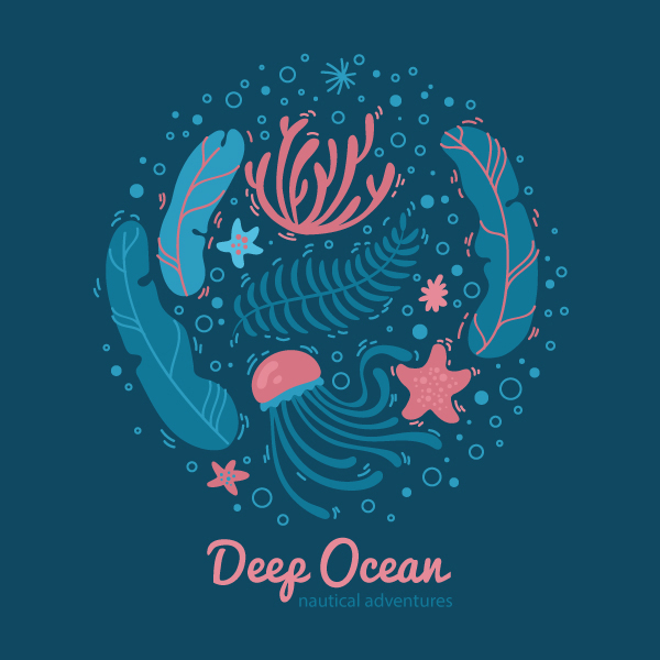 Create a Stylized Ocean Design in Adobe Illustrator