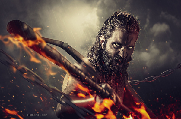 Creating a Viking Photo Manipulation in Adobe Photohshop