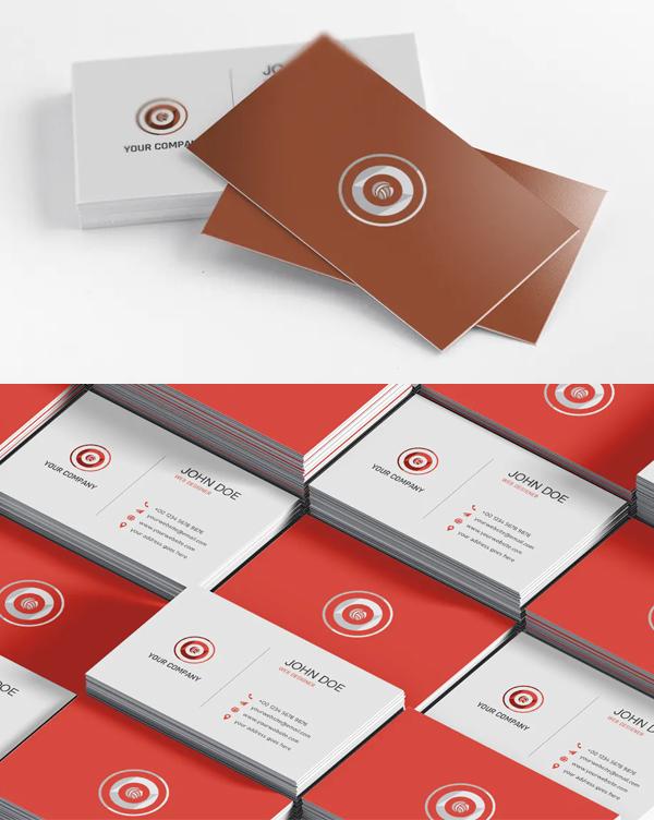 Elegant Minimal Business Card Template