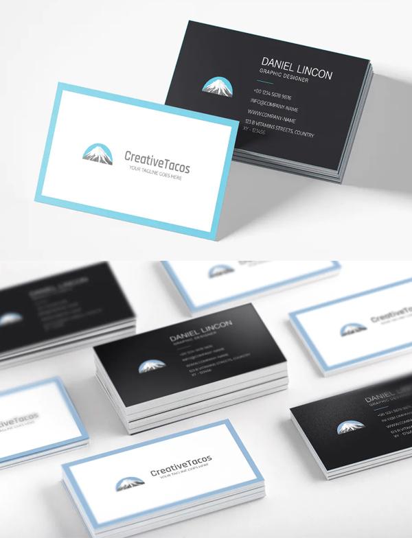Creative Sober Business Card Template