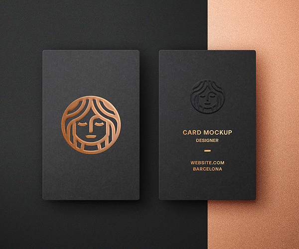Ceative Business Card Mockup