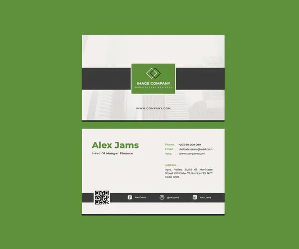 Image Company Business Card