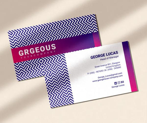 Iluwave – Business Card Template