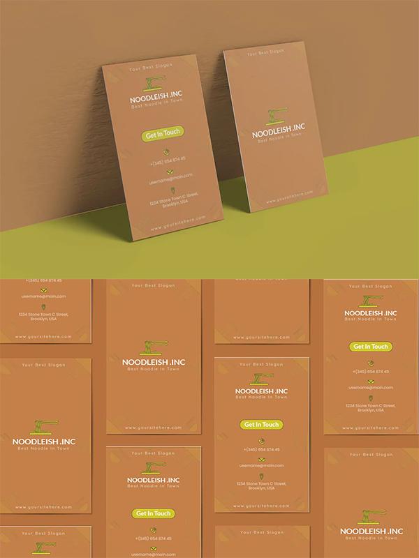 Noodleish Business Card