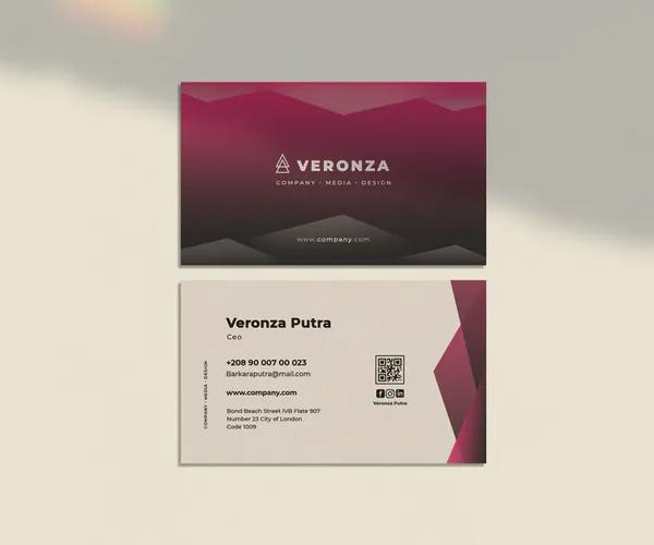 Veronza Business Card Template