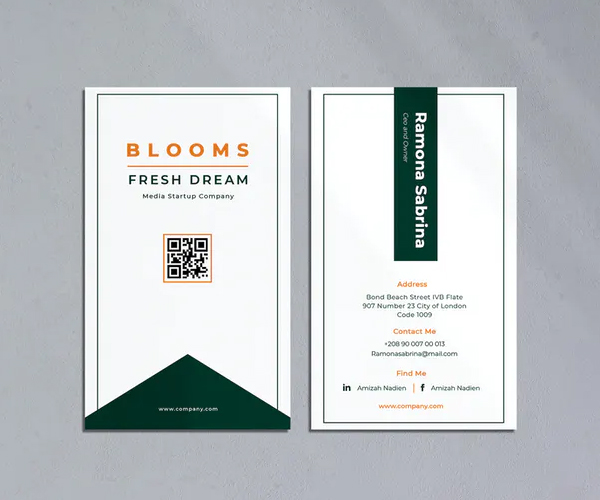 Bloom Business Card