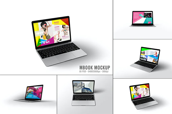 Macbook Mckup