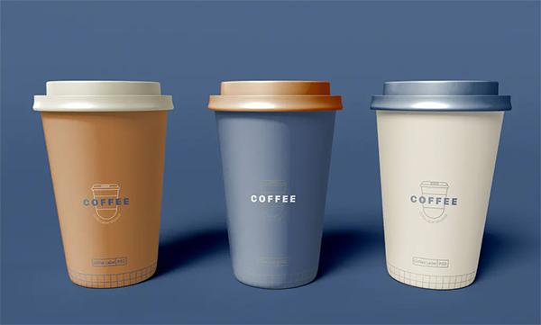 Take Away Coffee Cups Mockup