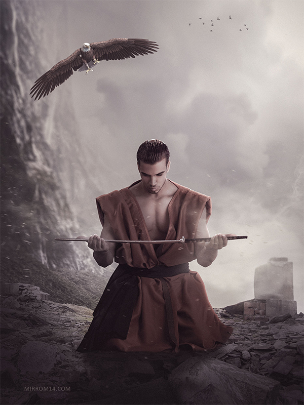 How to Create a Photo Manipulation Titled Eagle Sword in Photoshop