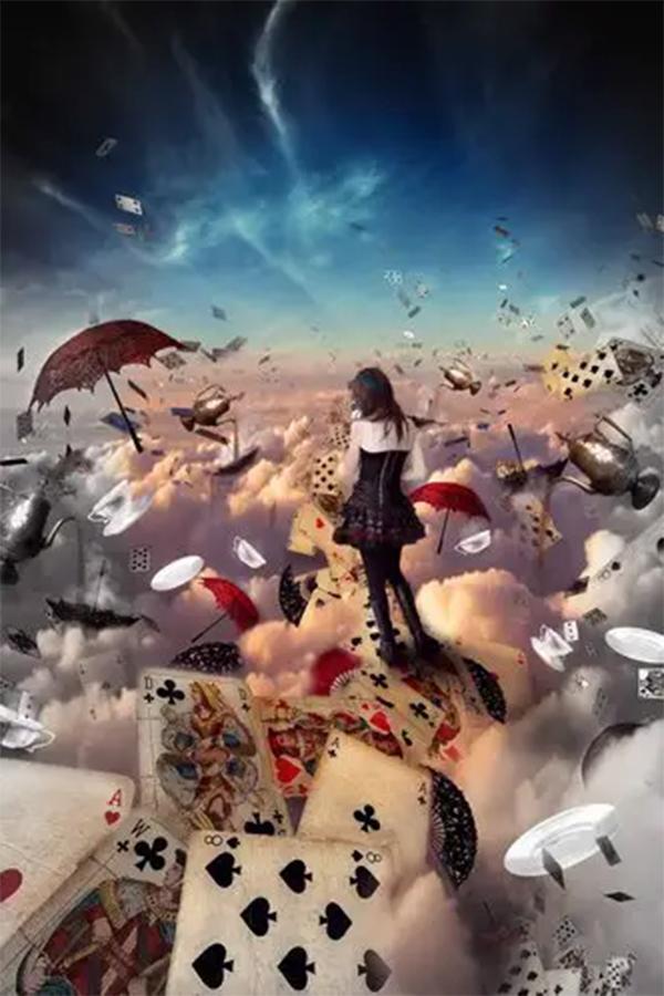 Create a Photo Manipulation of Alice in Wonderland