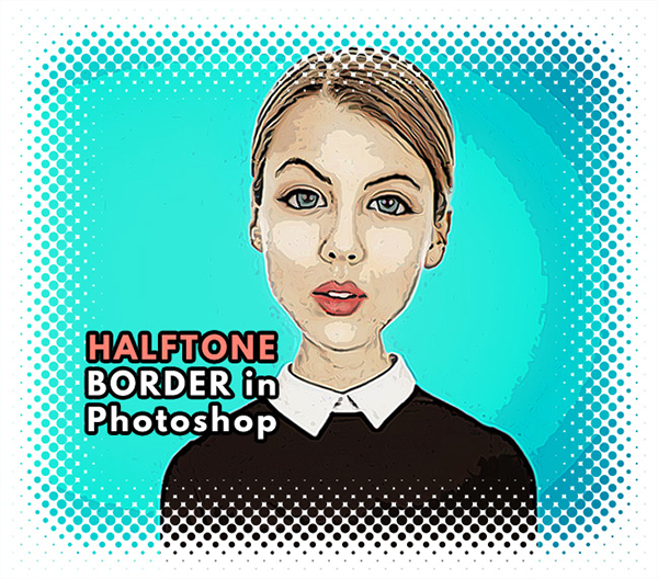 How to Create a Decorative Halftone Border in Photoshop