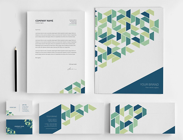 Elegant Stationery Corporate Identity
