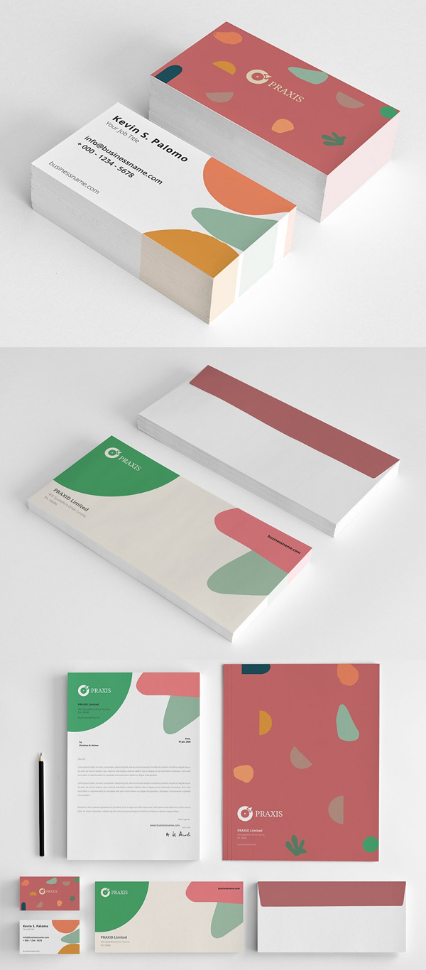 Awesome Stationery Branding