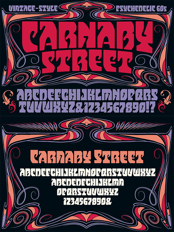 Carnaby Street Font