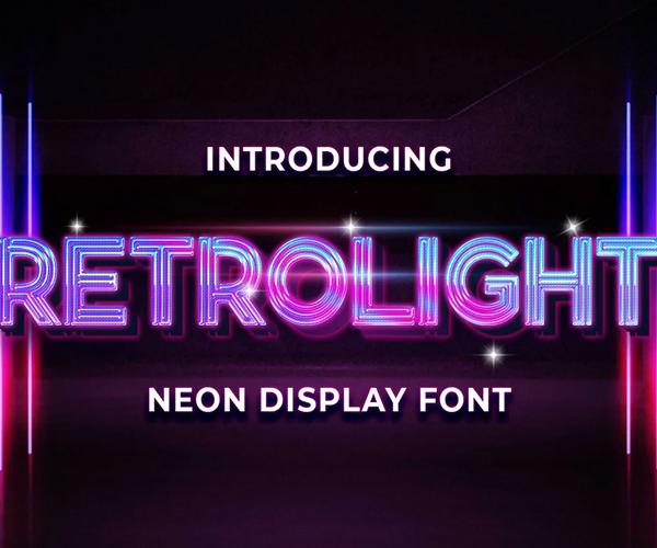 attractive+display+font