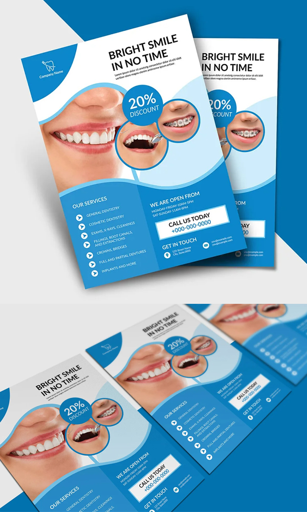 Dentist Services Flyer