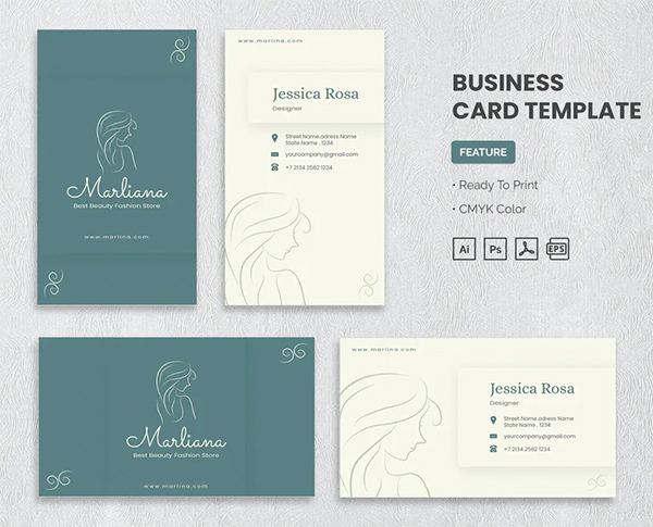 Marlina Business Card Template