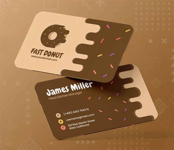 Fast Donut Bussiness Card