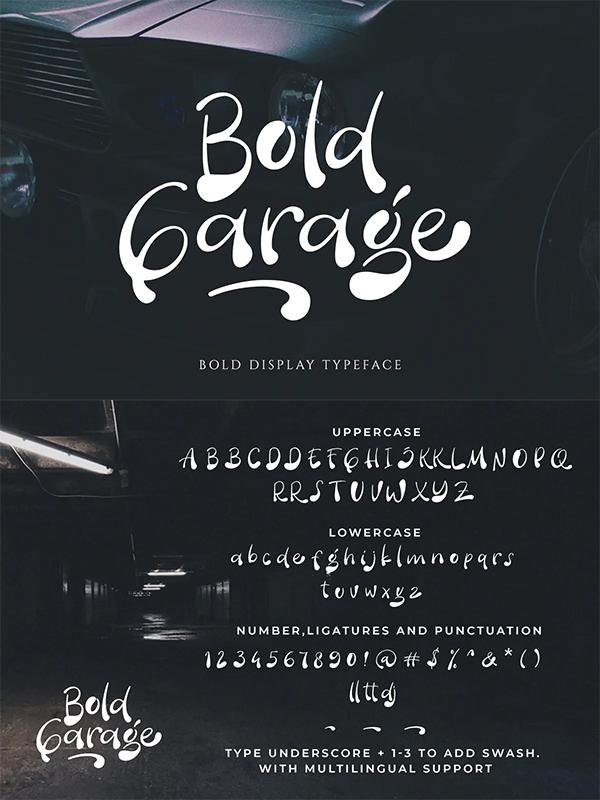Bold Display Font
