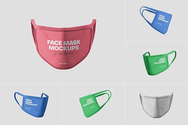 Face Mask Mockups