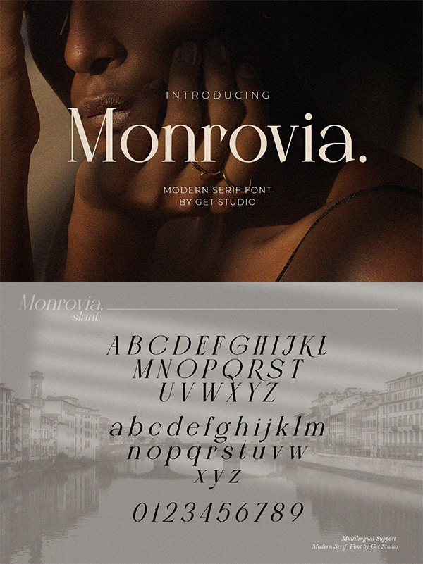 Monrovia Modern Serif Font