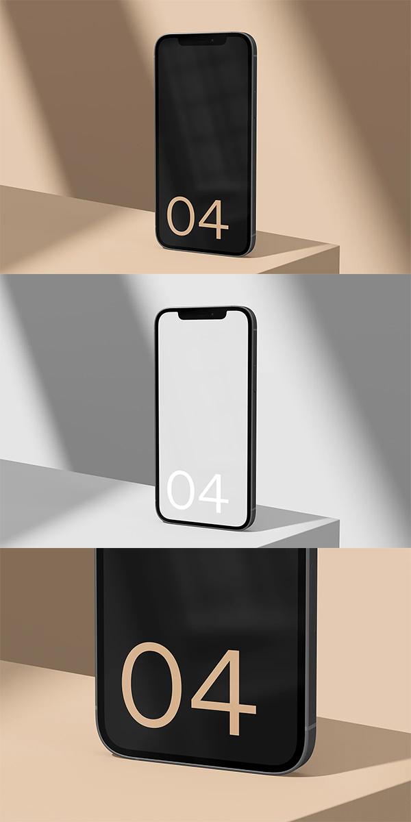 iPhone 12 Standard Mockup