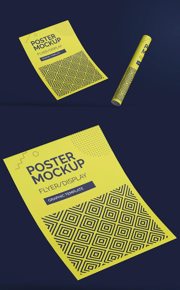 Awesome Poster Mockup