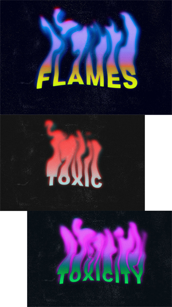Freebie ; Attractive Flames Text Effect (2021)