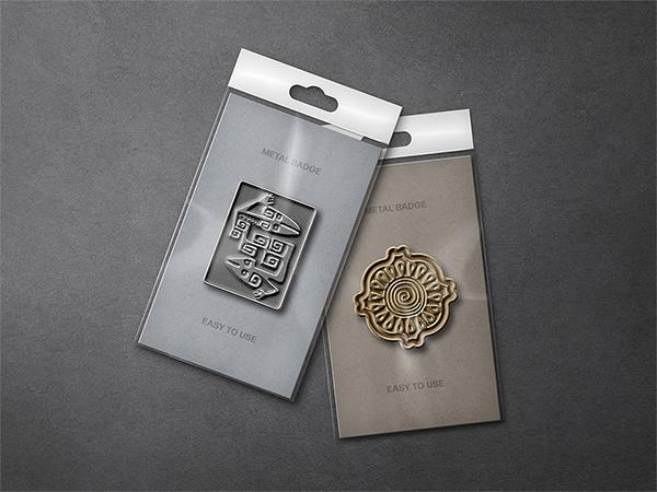 Mettalic Pin Badges