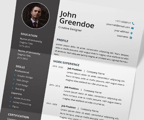 newest_resume_cv