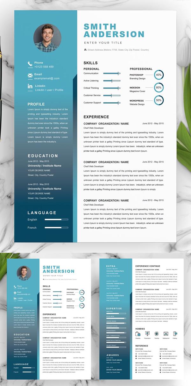 Best Creative Resume CV Template