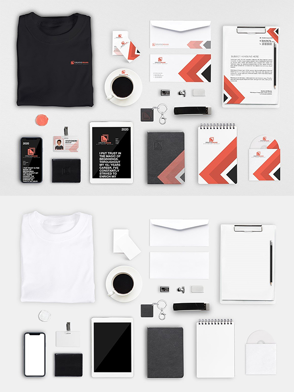 Perfect Branding Stationery Mockup