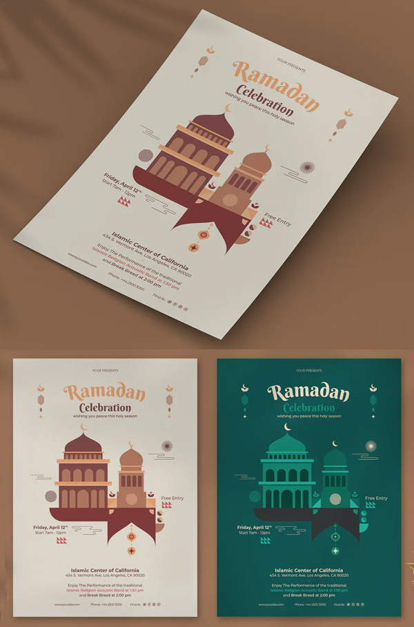 Best Creative Ramadan Kareem Flyer