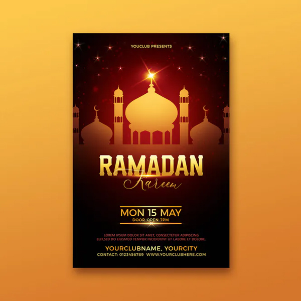 Perfect Ramadan Kareem Flyer