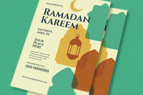 Awesome Ramadan Kareem Flyer