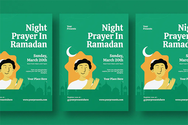 Best Ramadan Kareem Flyer
