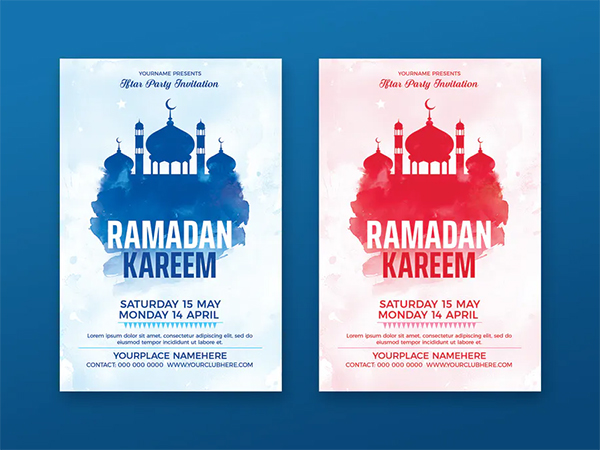 Creative Ramadan Flyer Template