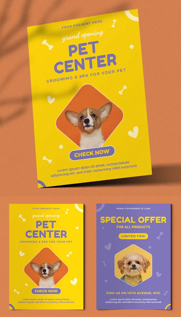 Pet Center Flyer