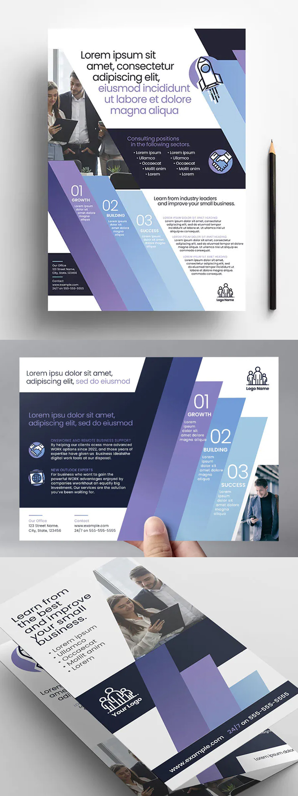 Business Consultants Flyer