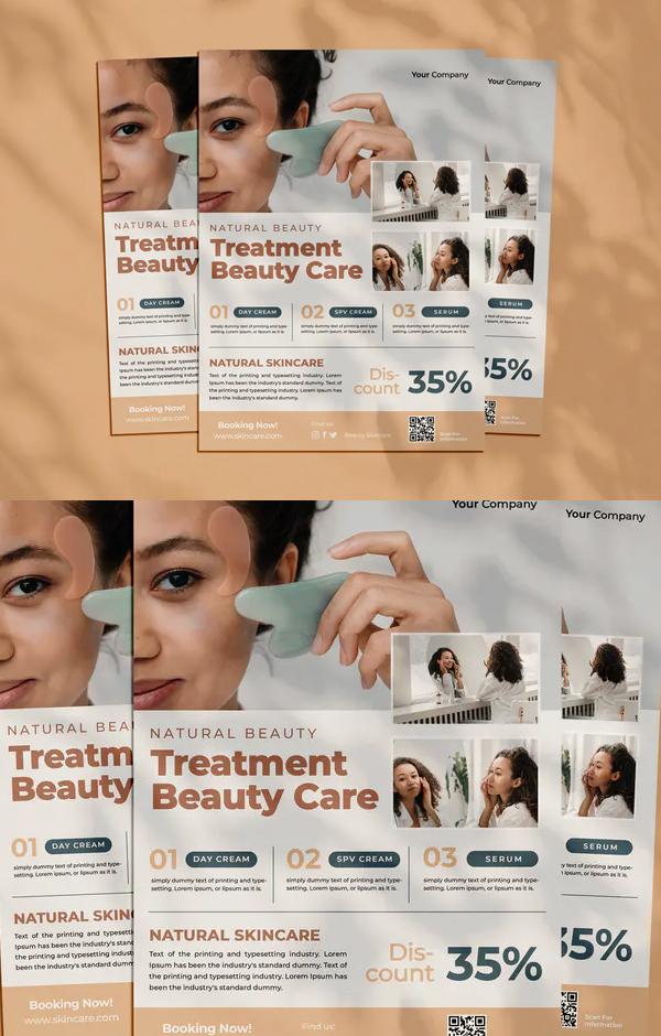 Care Beauty Flyer