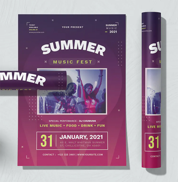 Summer Festy Flyer